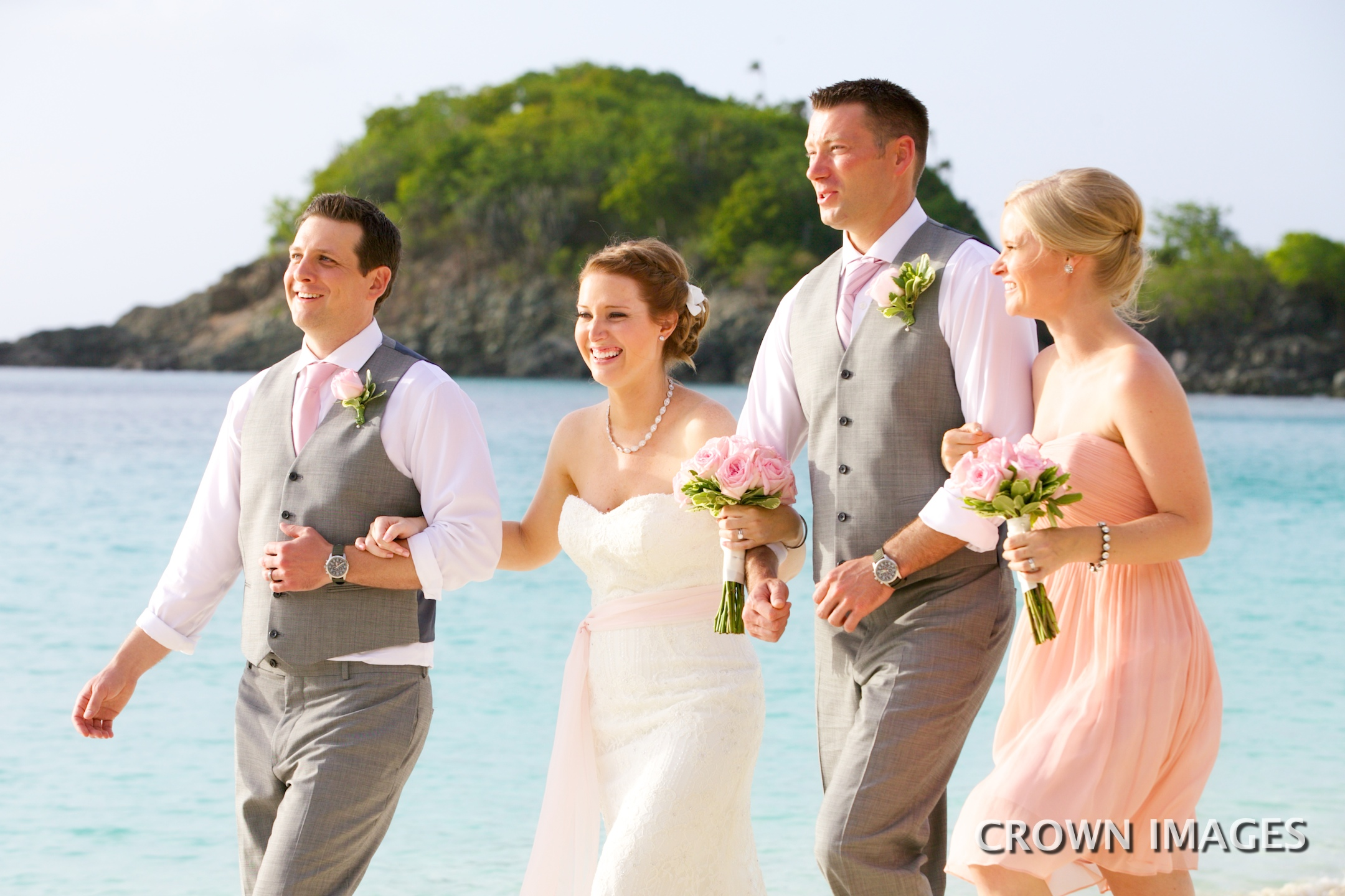 trunk bay wedding photos