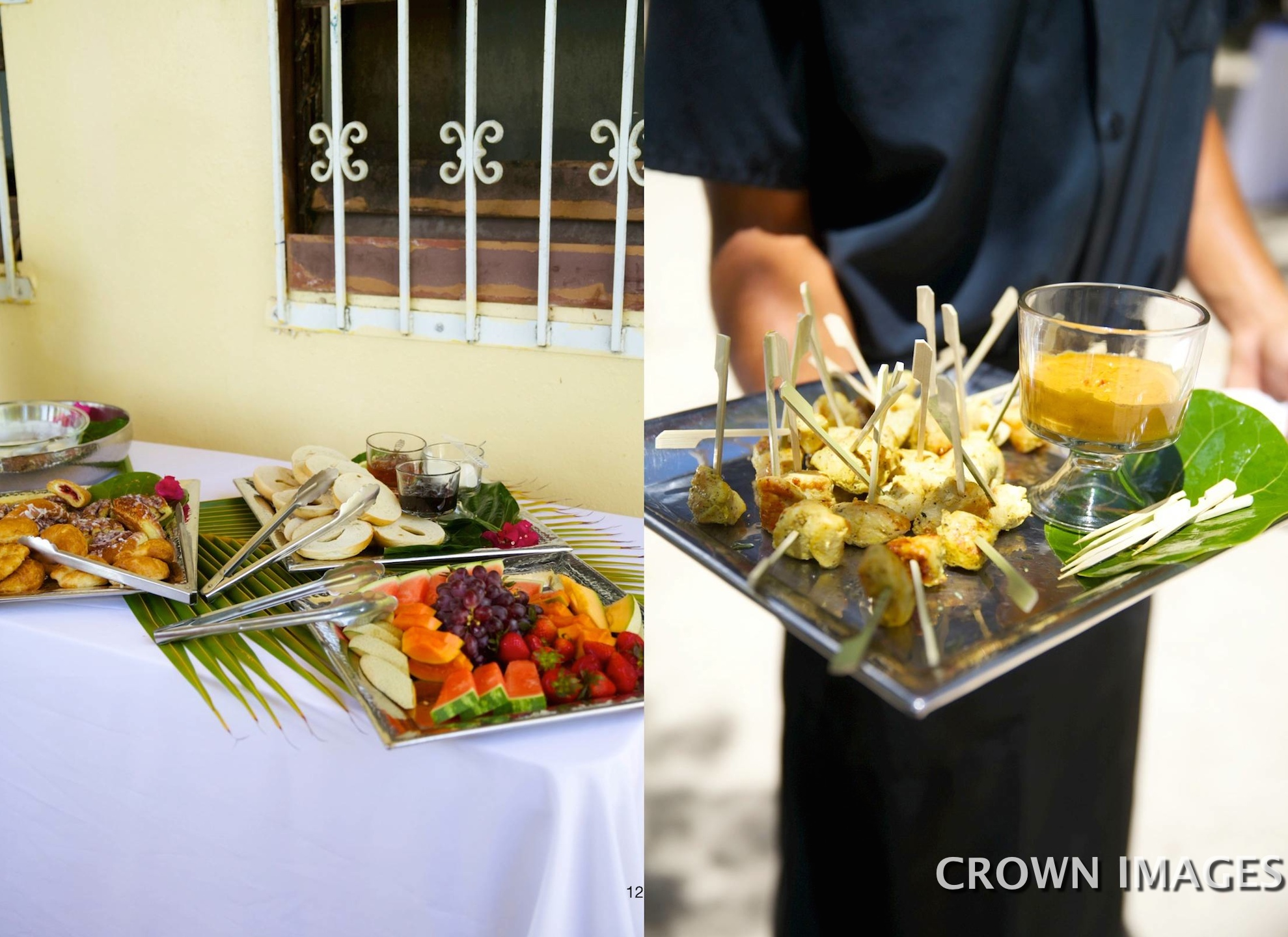 wedding catering st john
