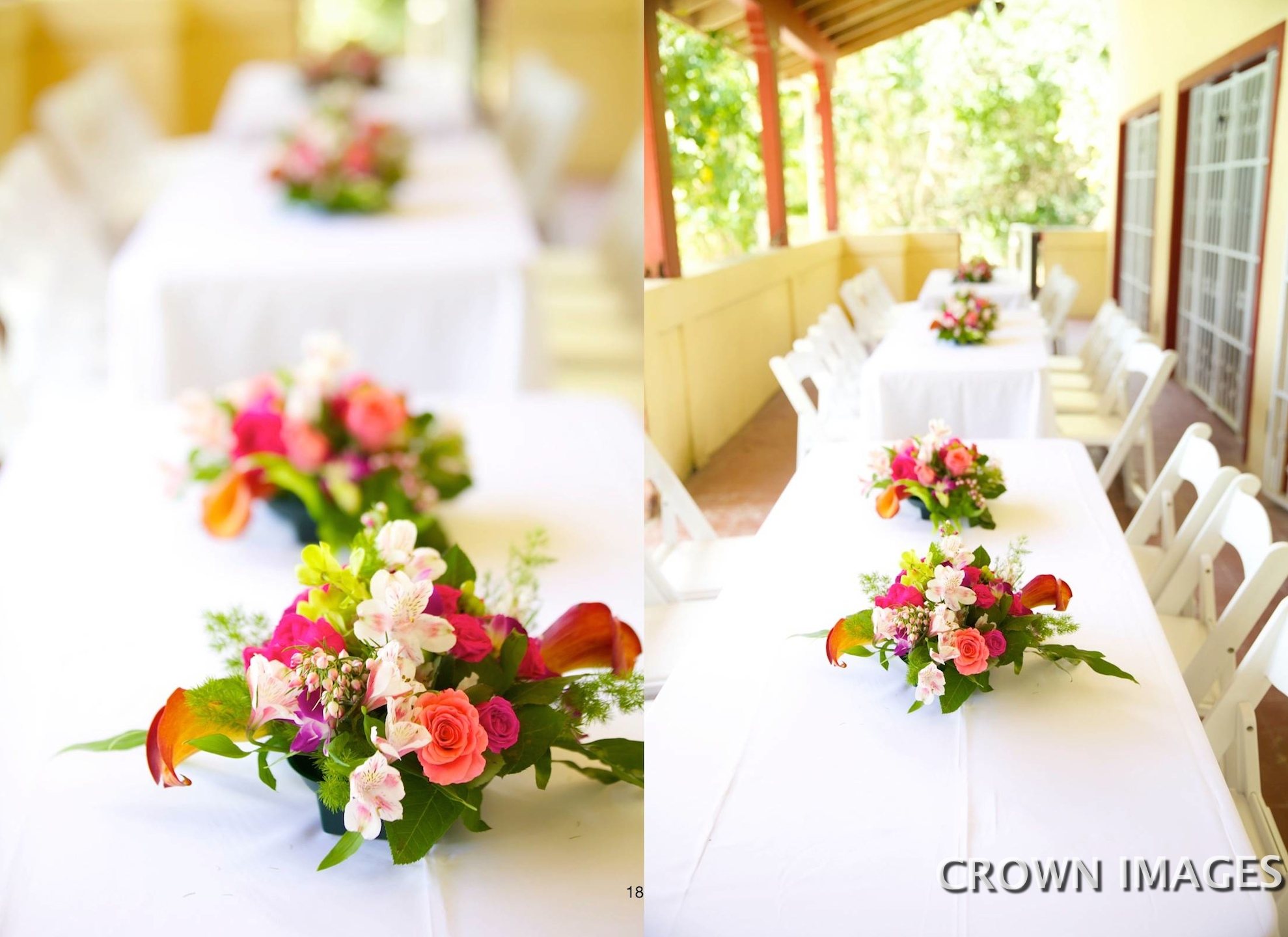 passion flowers of st john table settings