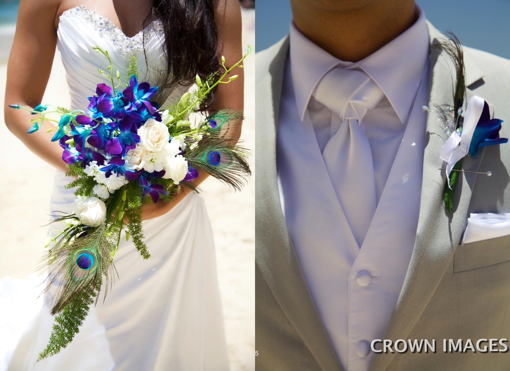 wedding flowers st thomas