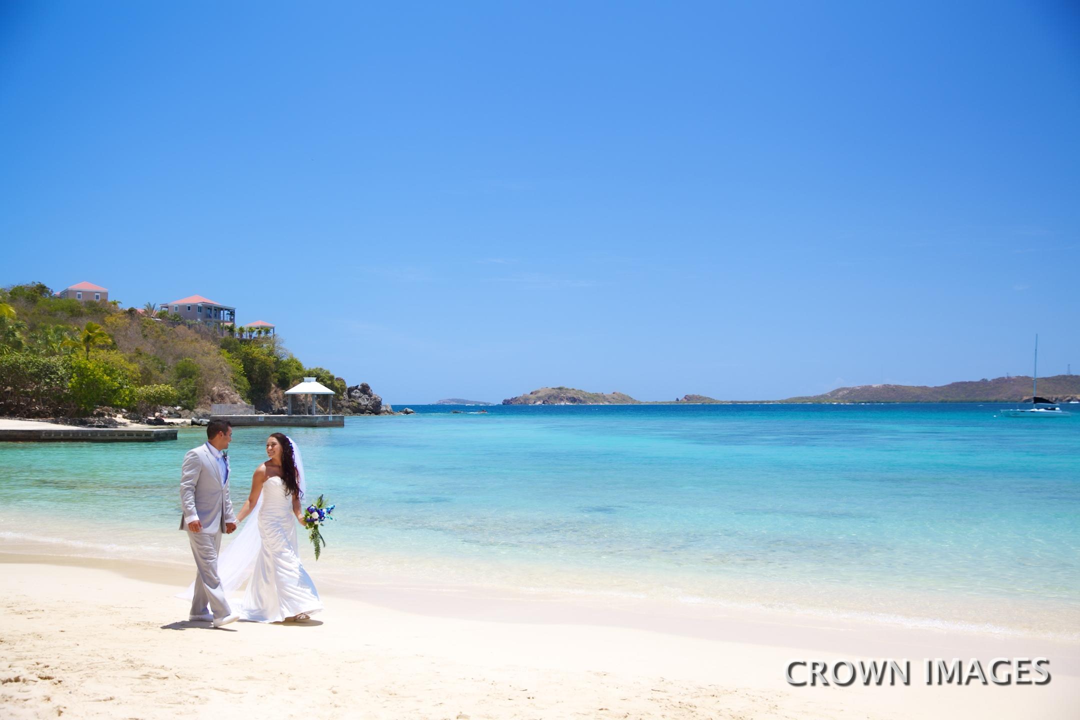 st thomas wedding locations on the beach