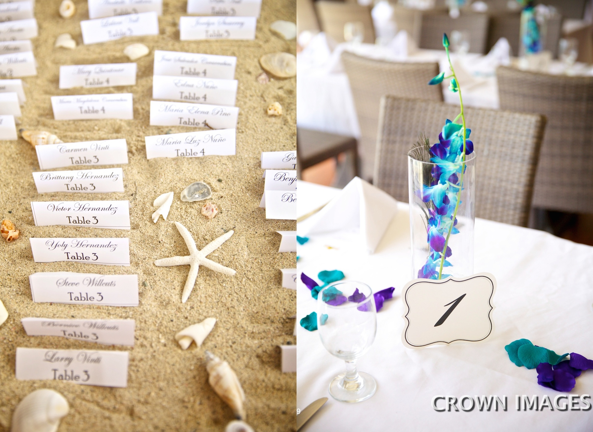 wedding reception on st thomas