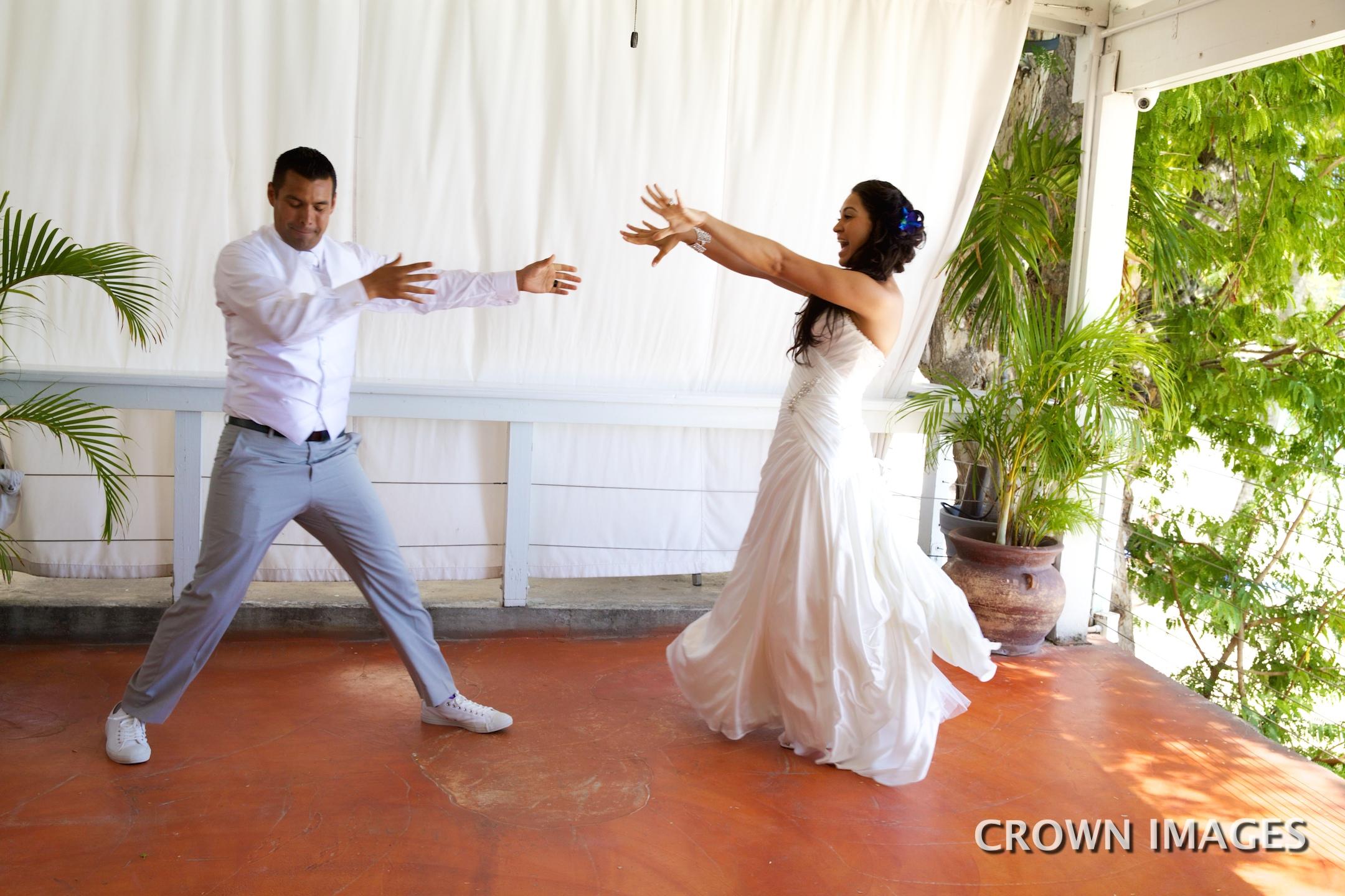 first dance wedding on st thomas