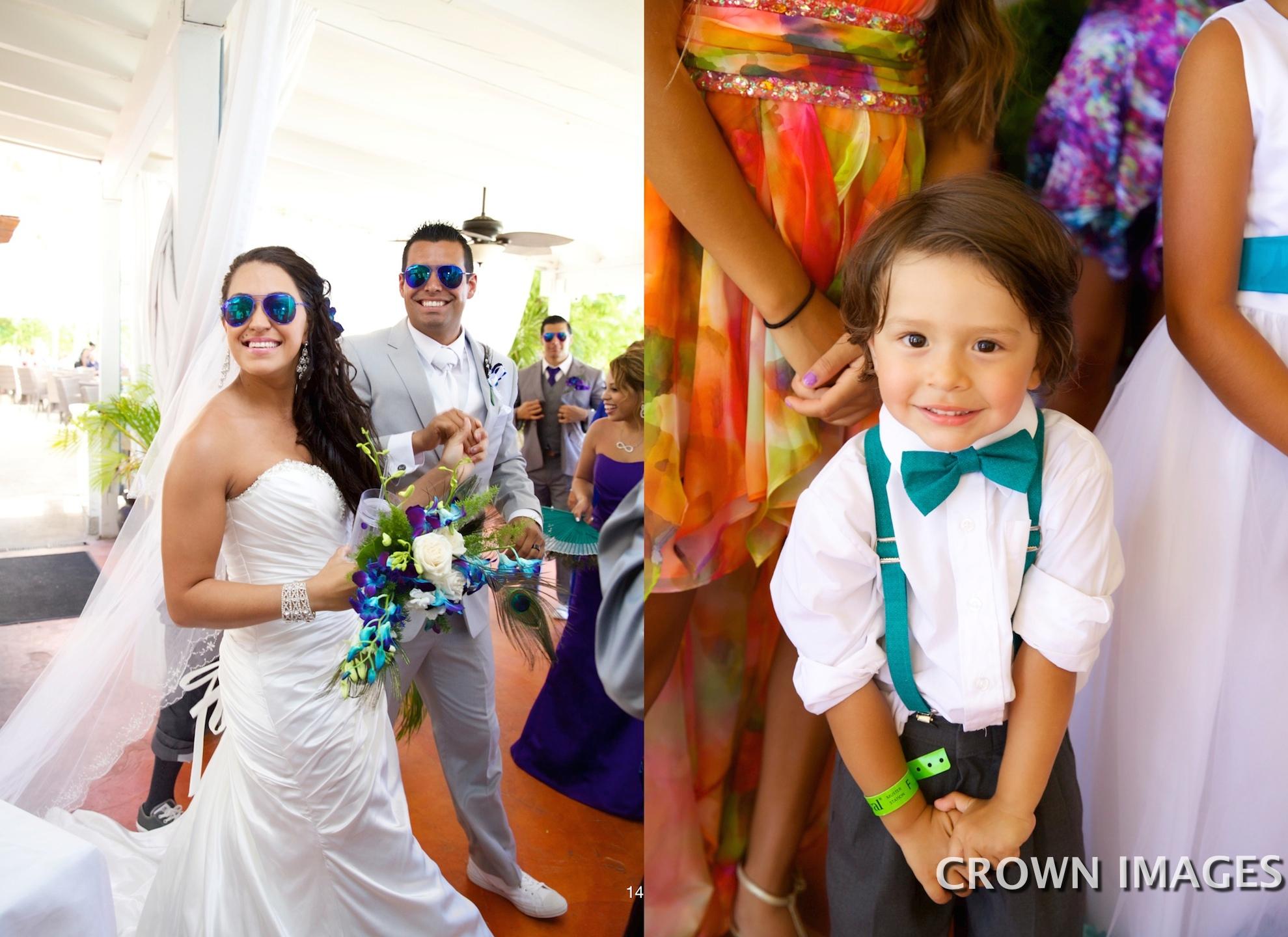 st thomas wedding reception
