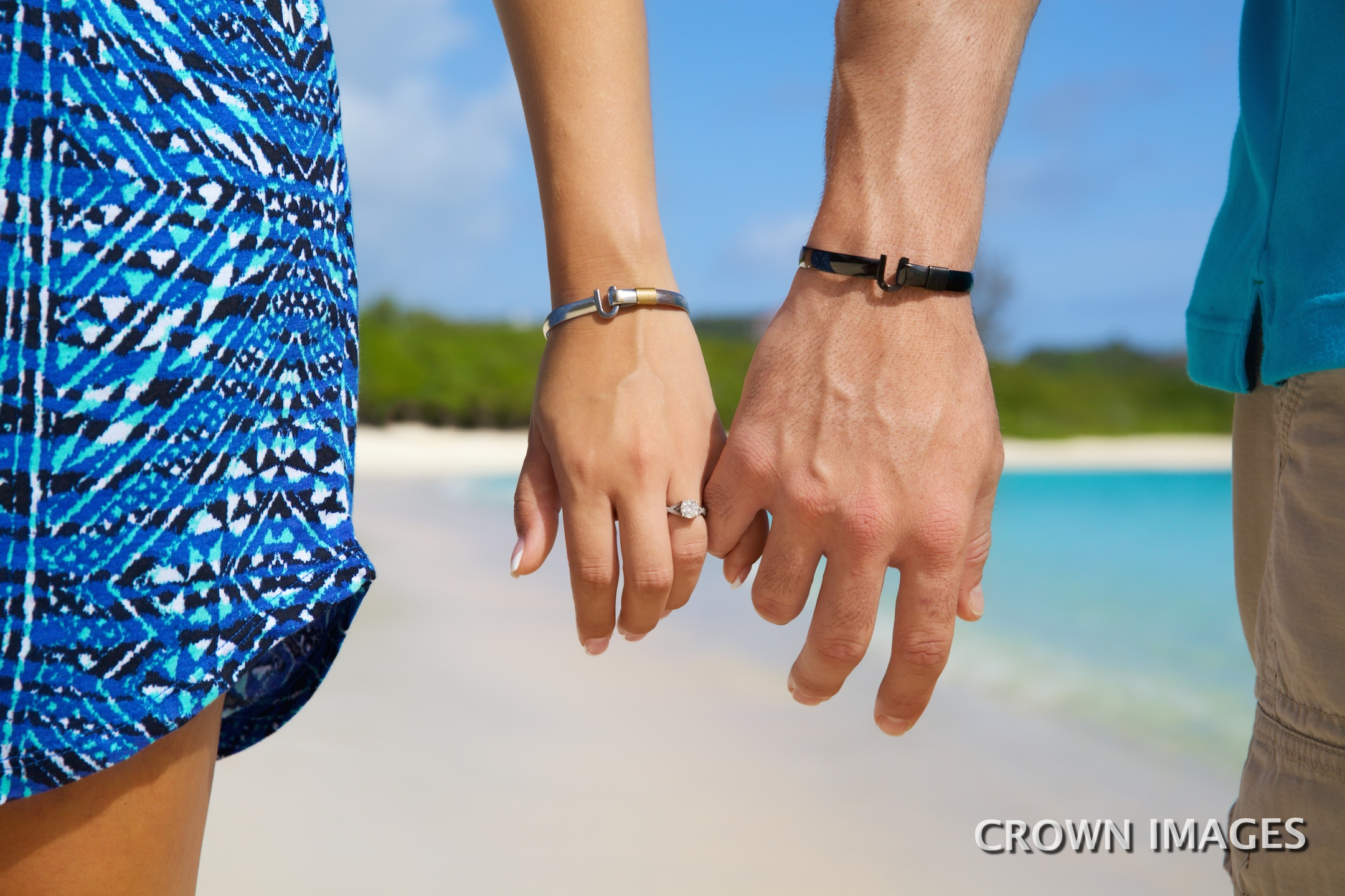 engagement session in the virgin islands