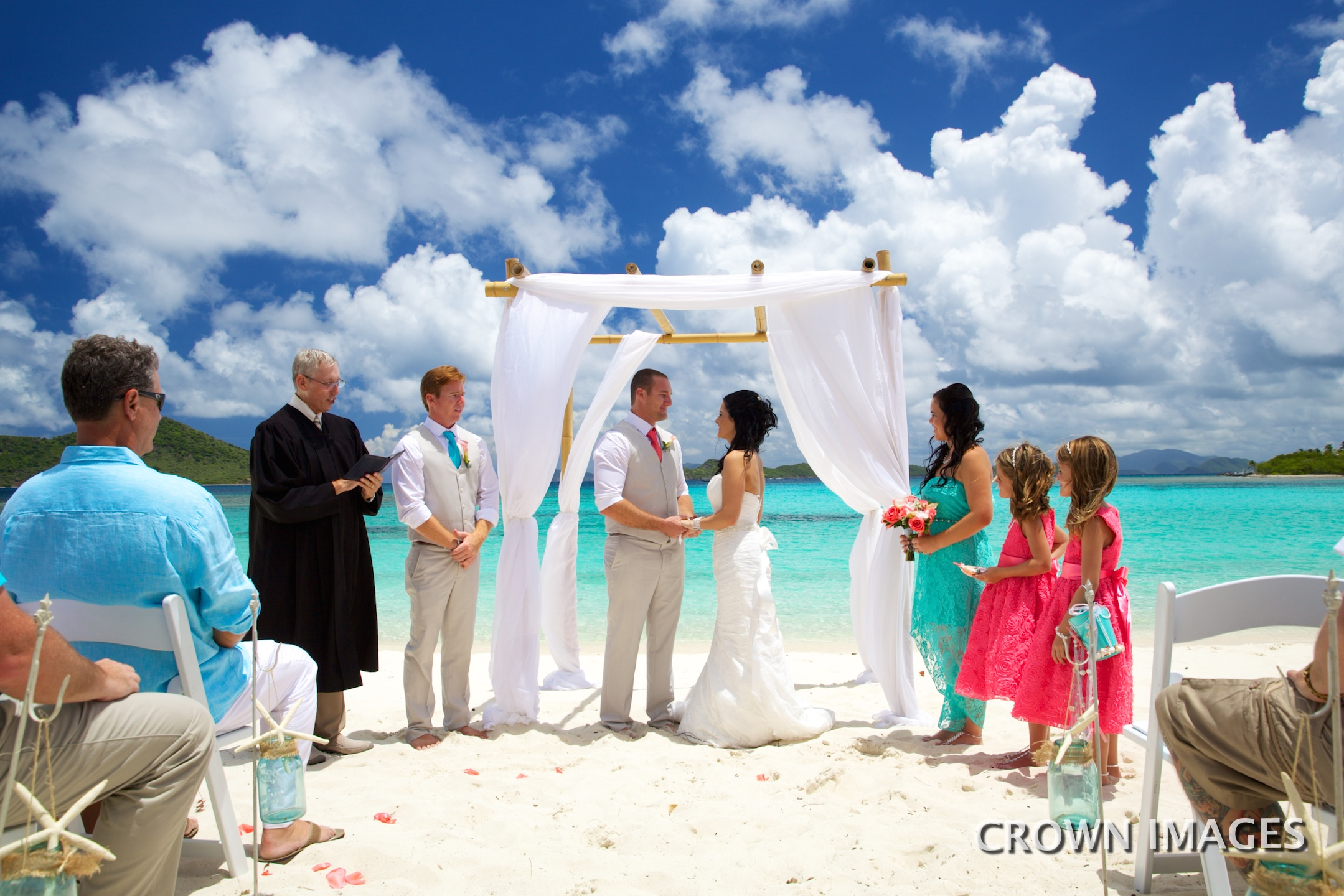 st thomas wedding ceremony photo by crown images
