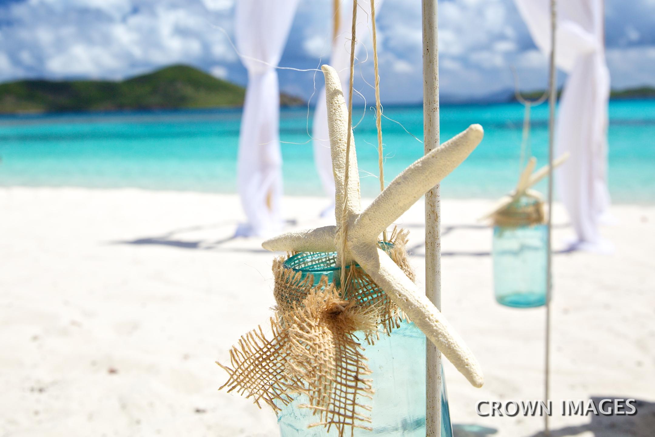 beach wedding decorations virgin islands