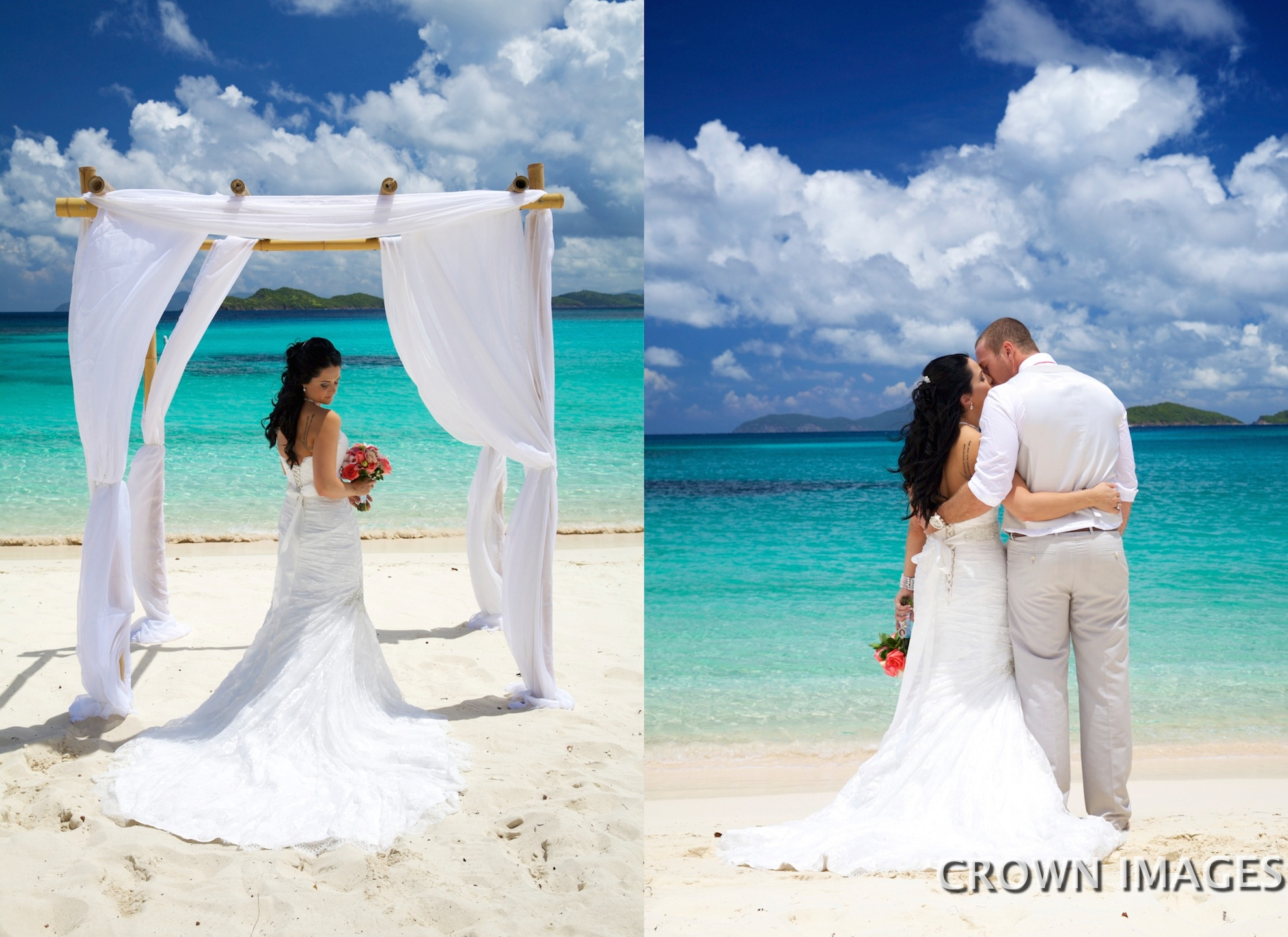 planning a virgin islands wedding photos by crown images