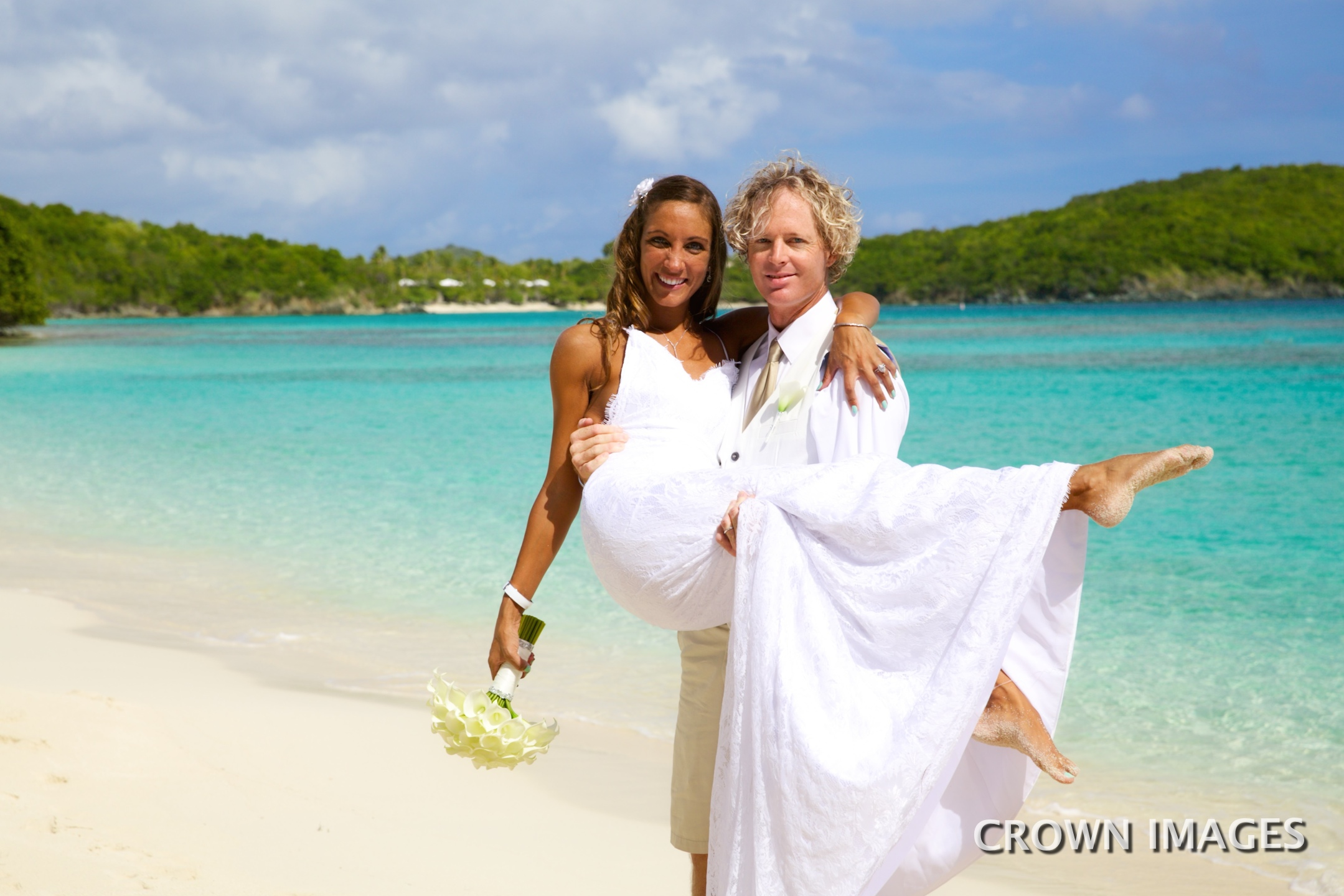 wedding on st john virgin islands photo by crown images