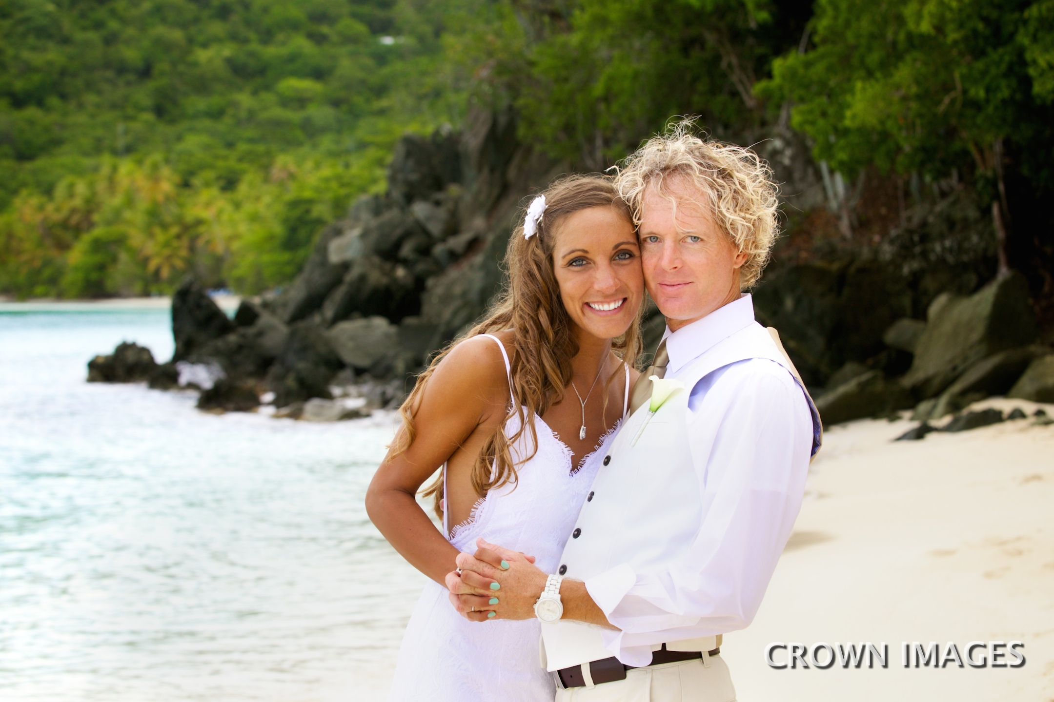 st john virgin islands wedding photos by crown images