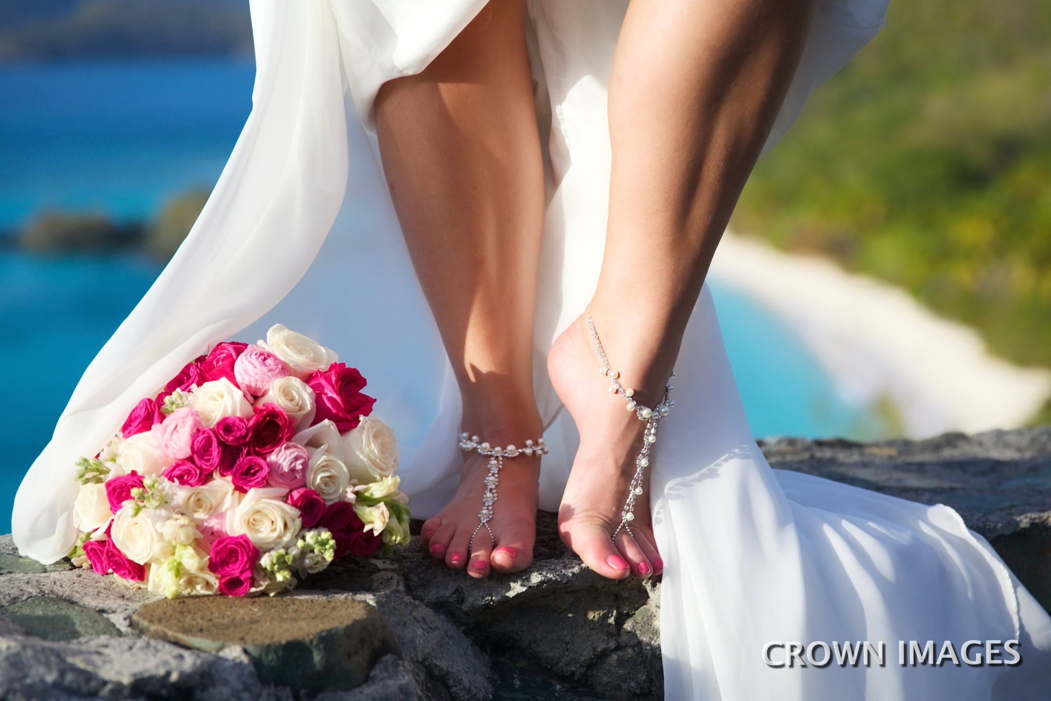 st john wedding flowers