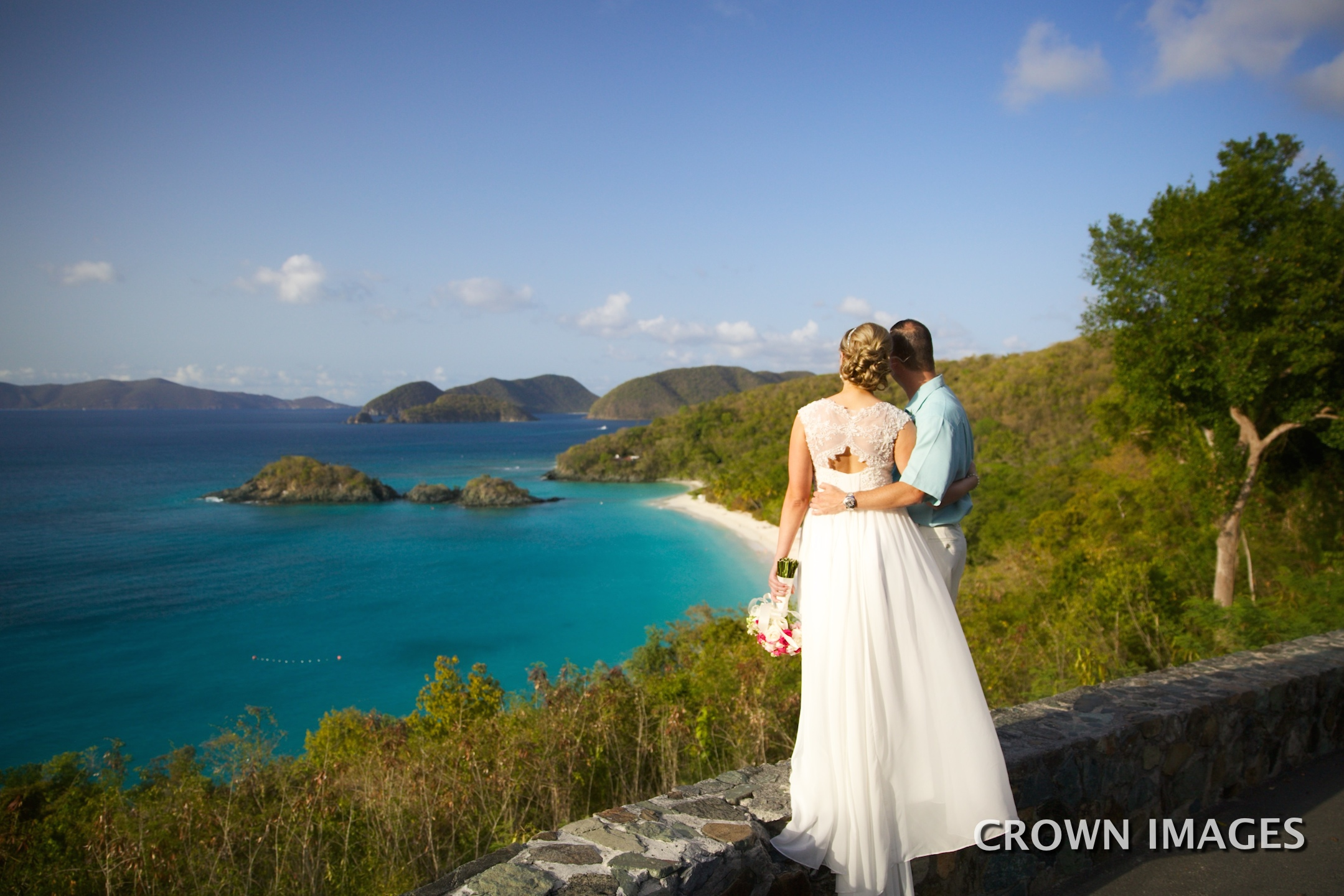 overlook for wedding photos st john photo by crown images