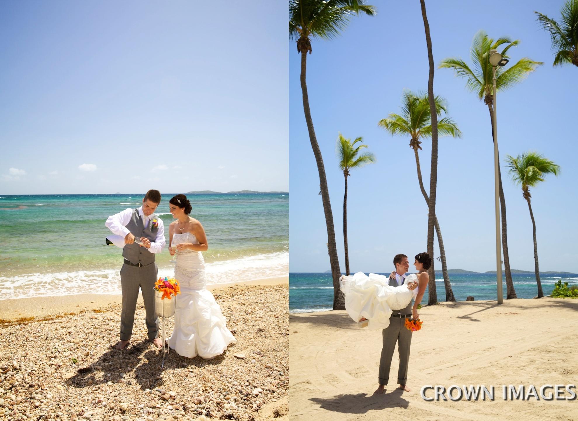 crown images photography virgin islands wedding