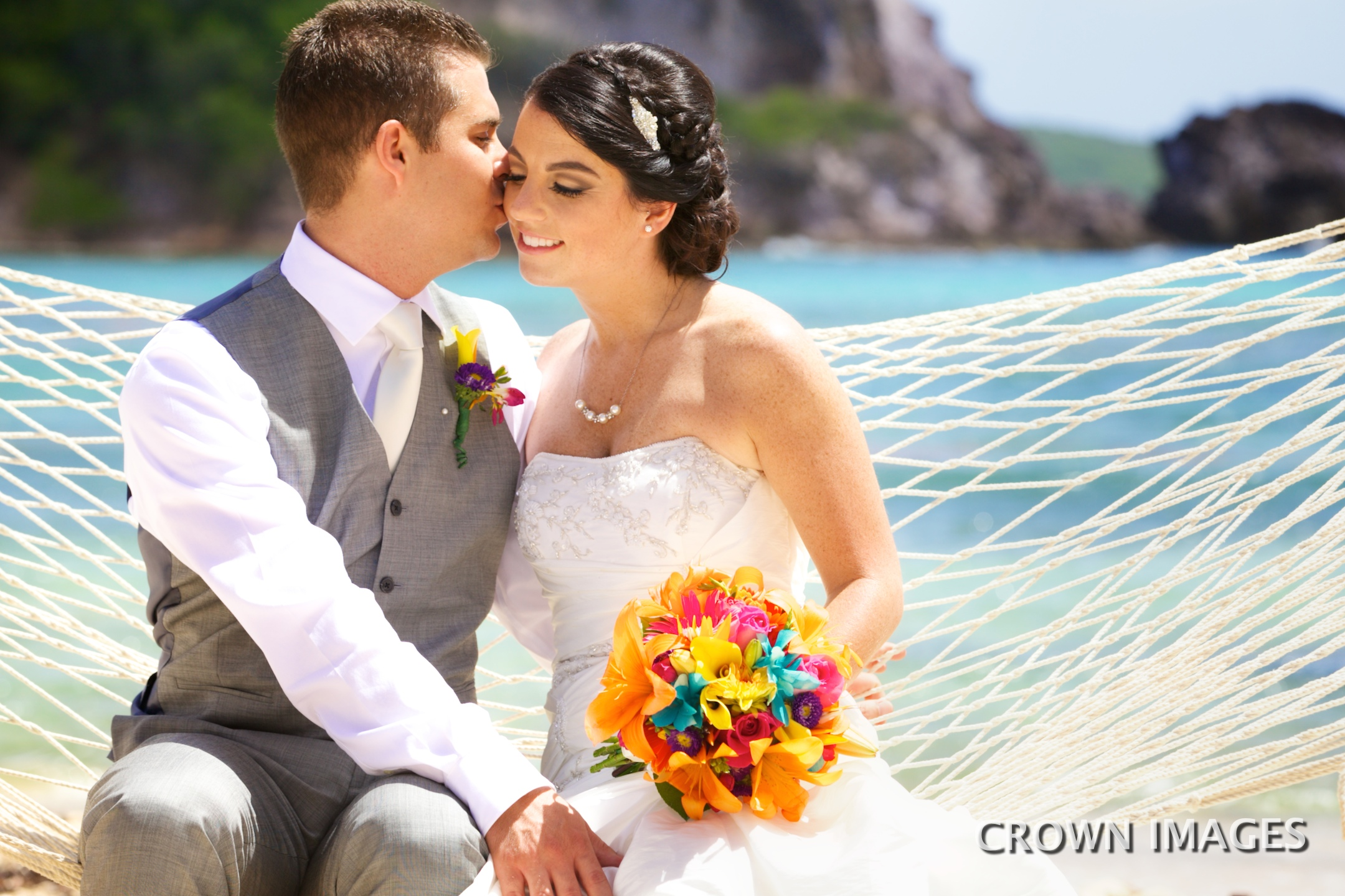 virgin islands wedding photos by crown images
