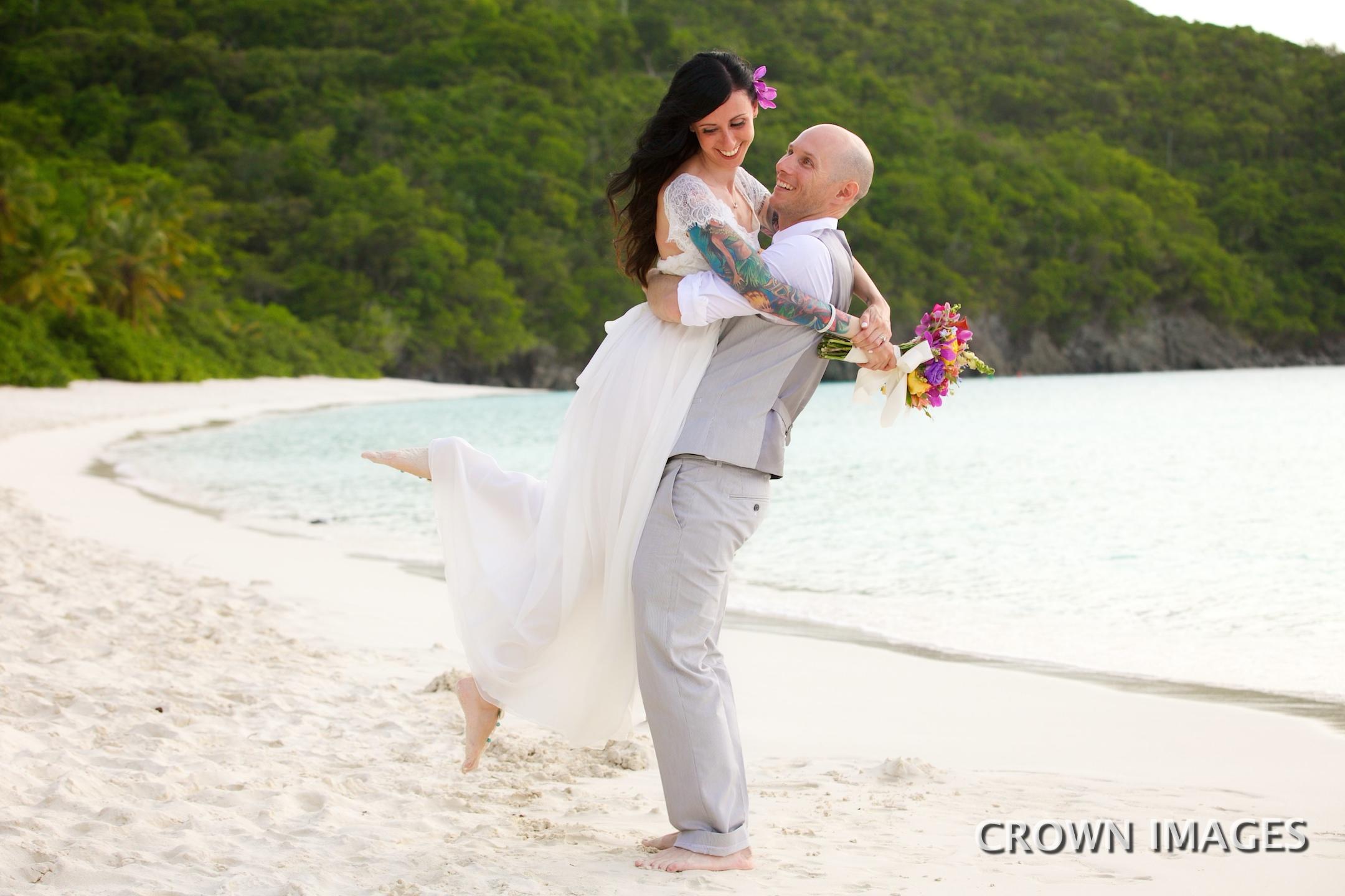 wedding photographer crown images st john usvi