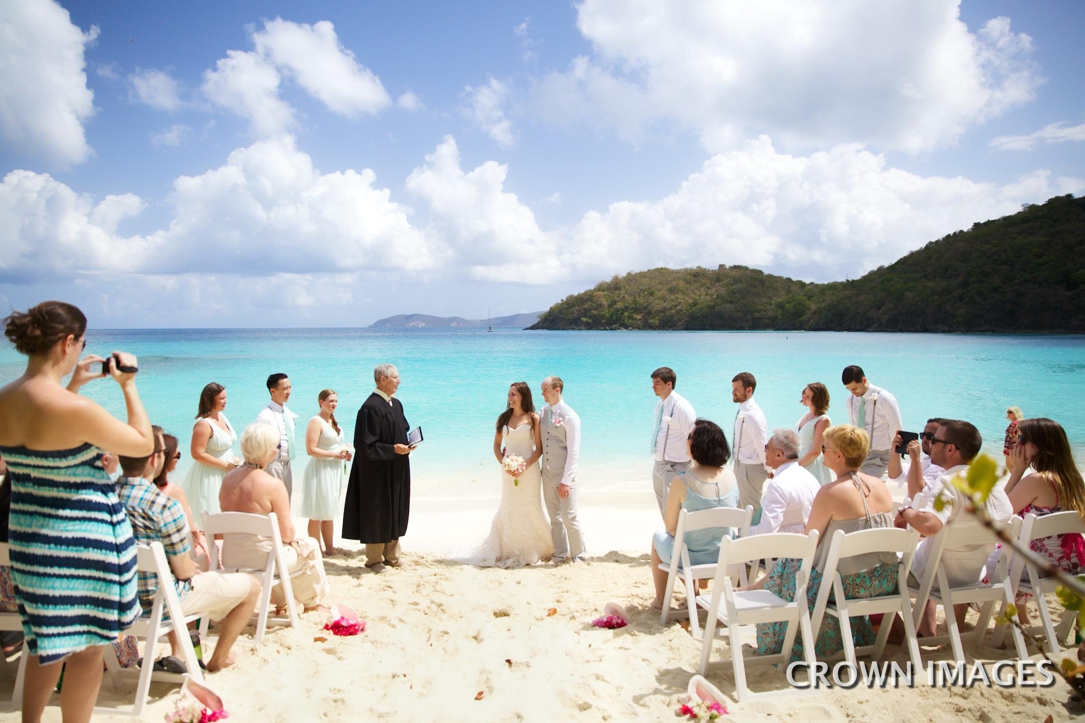 wedding planning in the us virgin islands