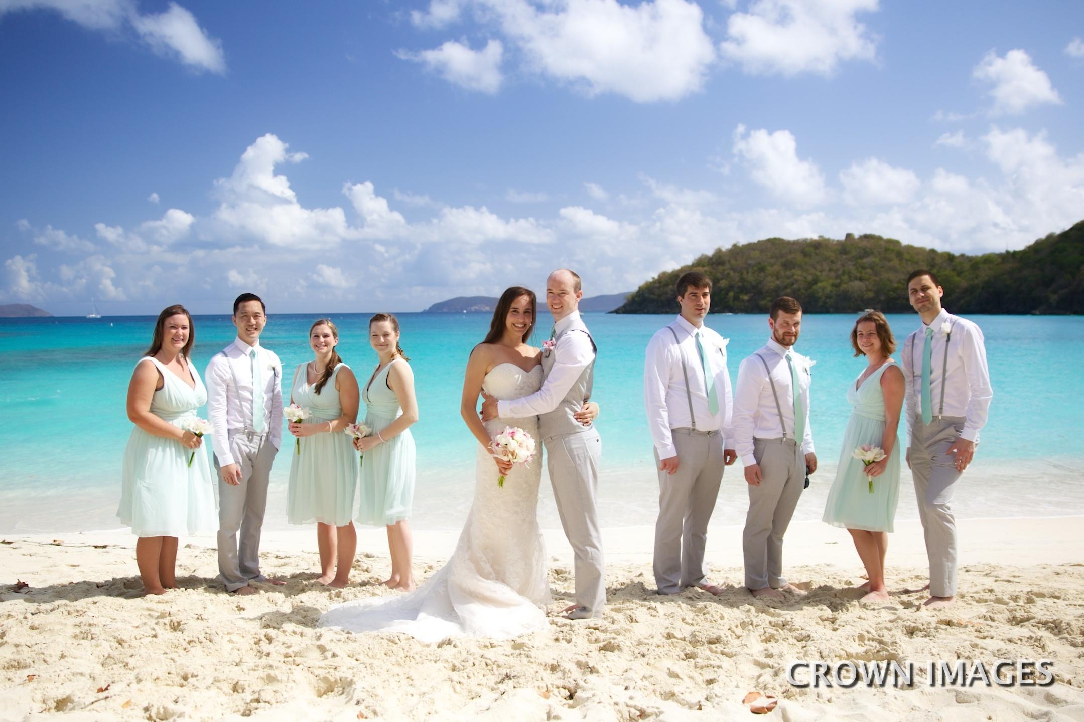 st john wedding photos crown images