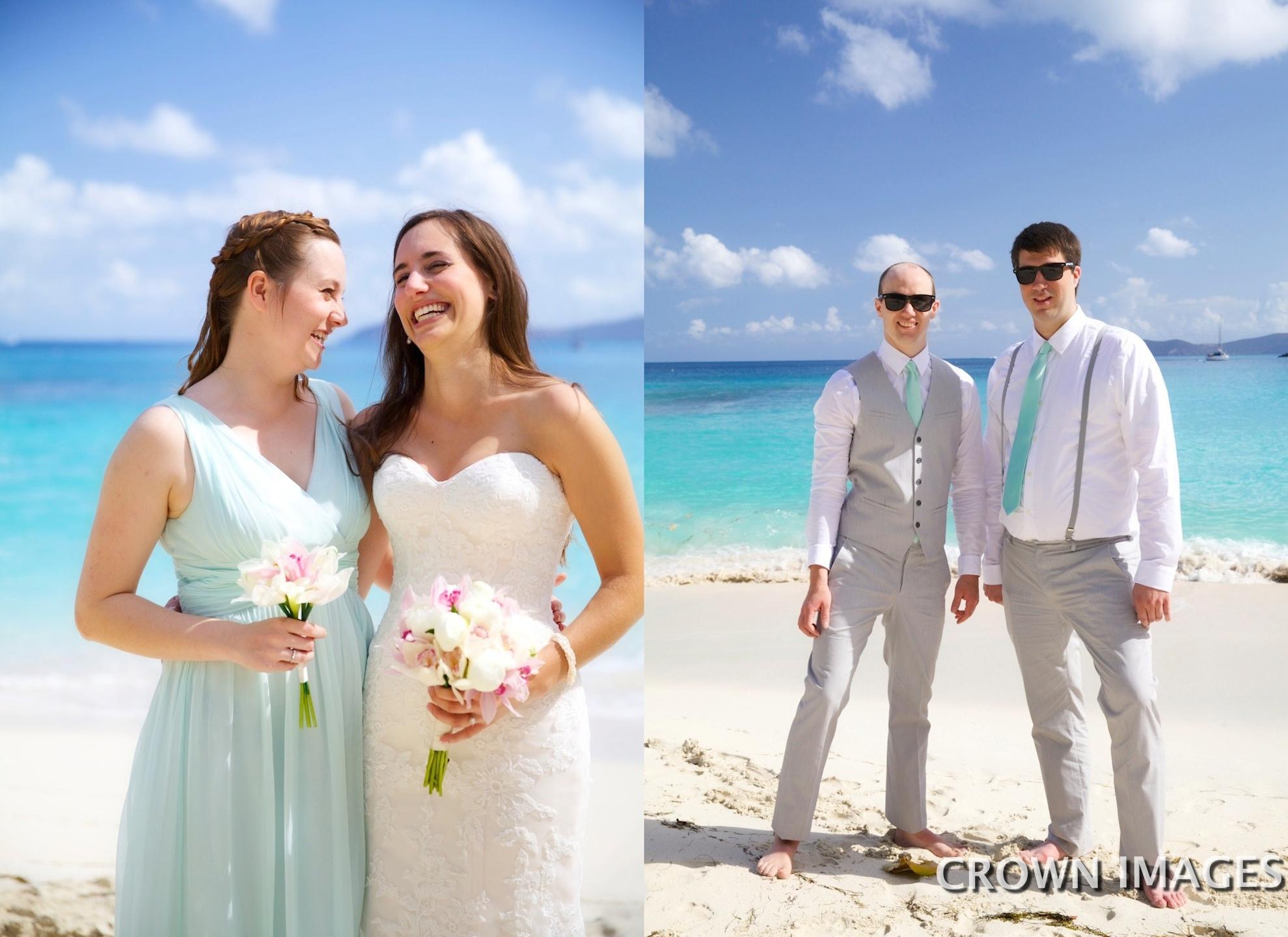 wedding on st john us virgin islands