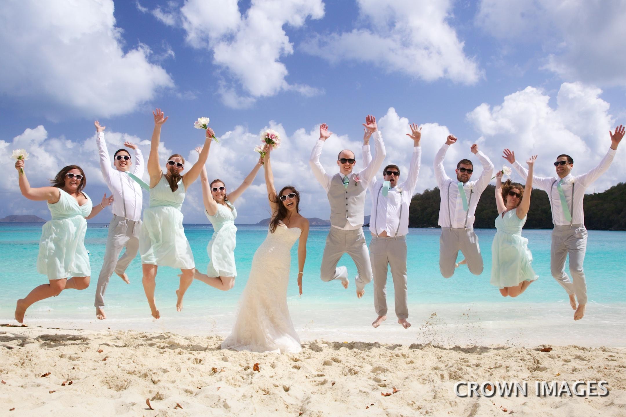 st john wedding locations on the beach