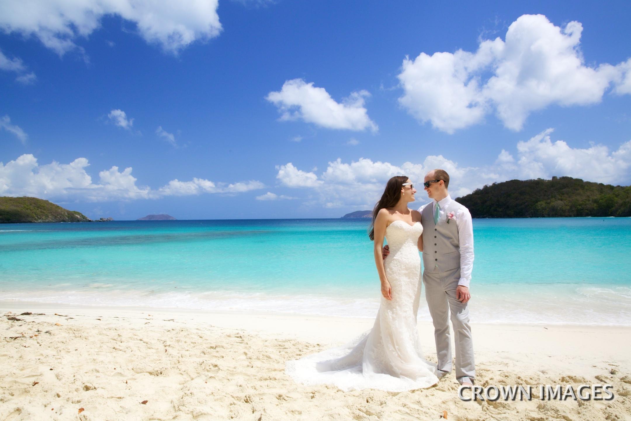 getting married on st john us virgin islands crown images