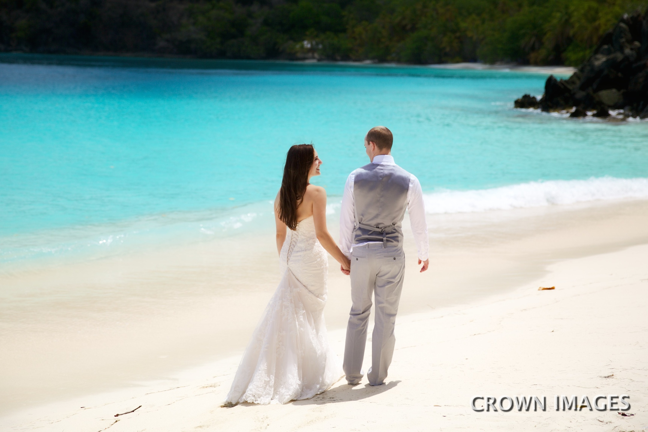 island wedding in the caribbean photos by crown images
