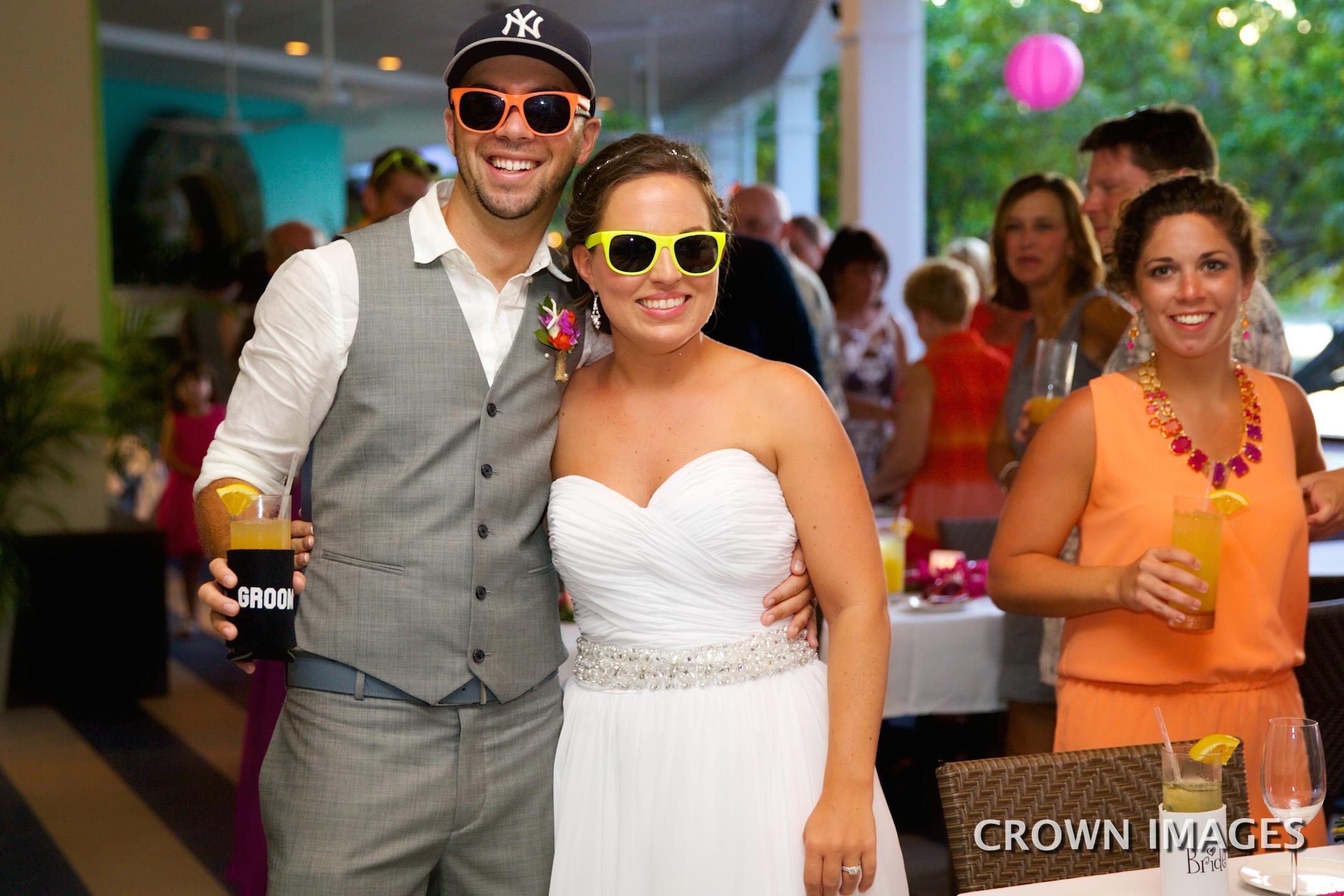 st john wedding reception held at waterfront bistro