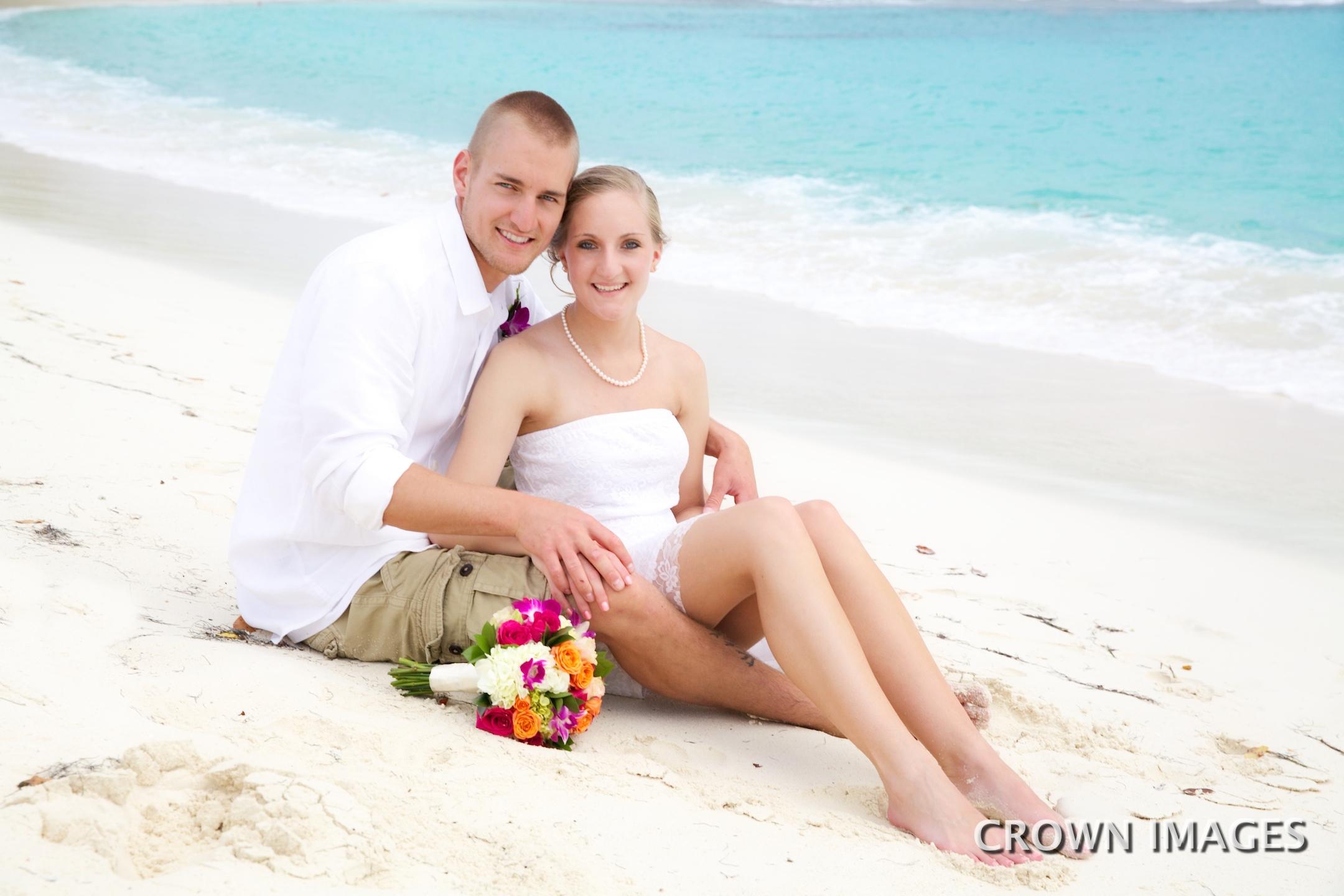 wedding photographer on st thomas