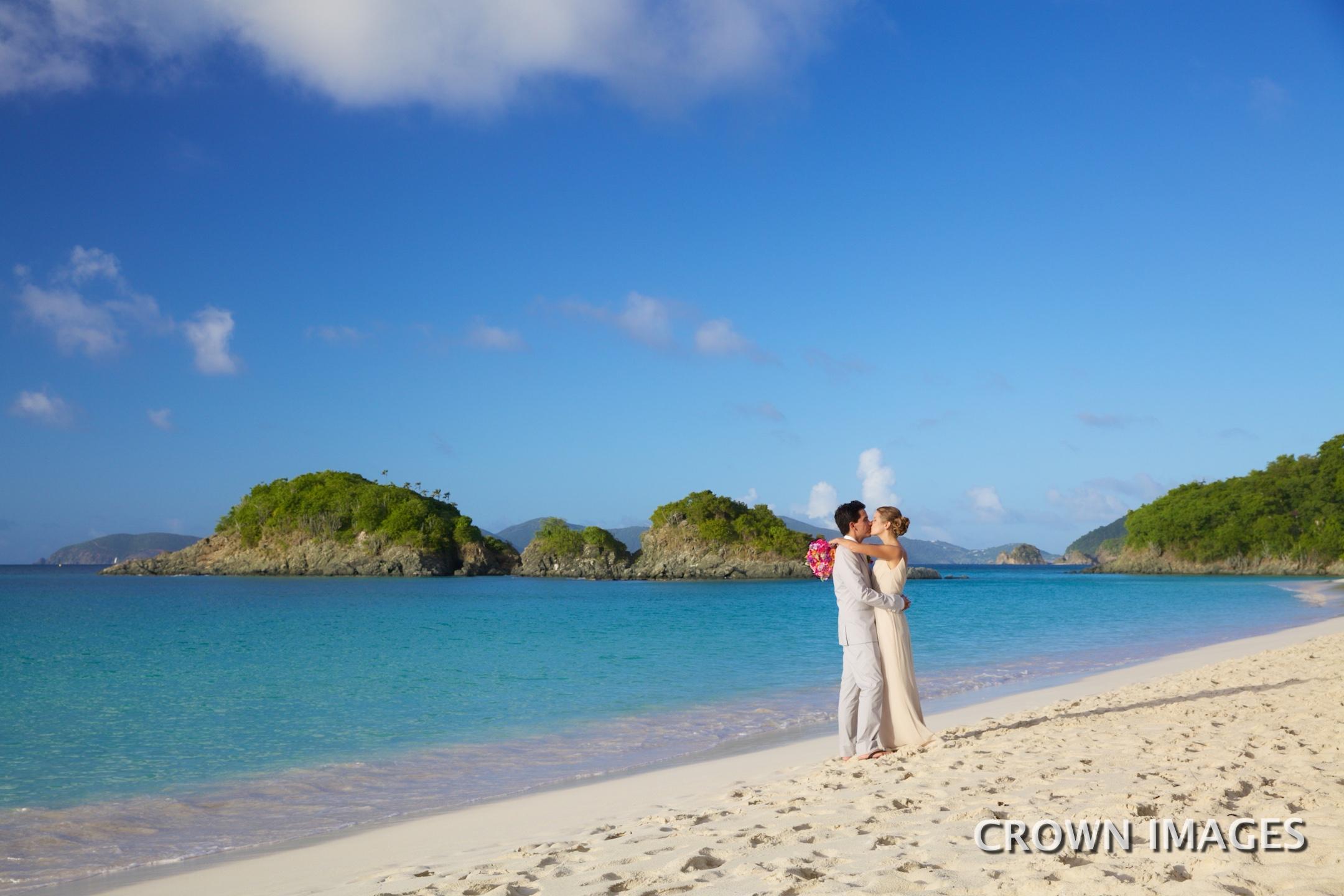 wedding locations for a beach wedding on st john