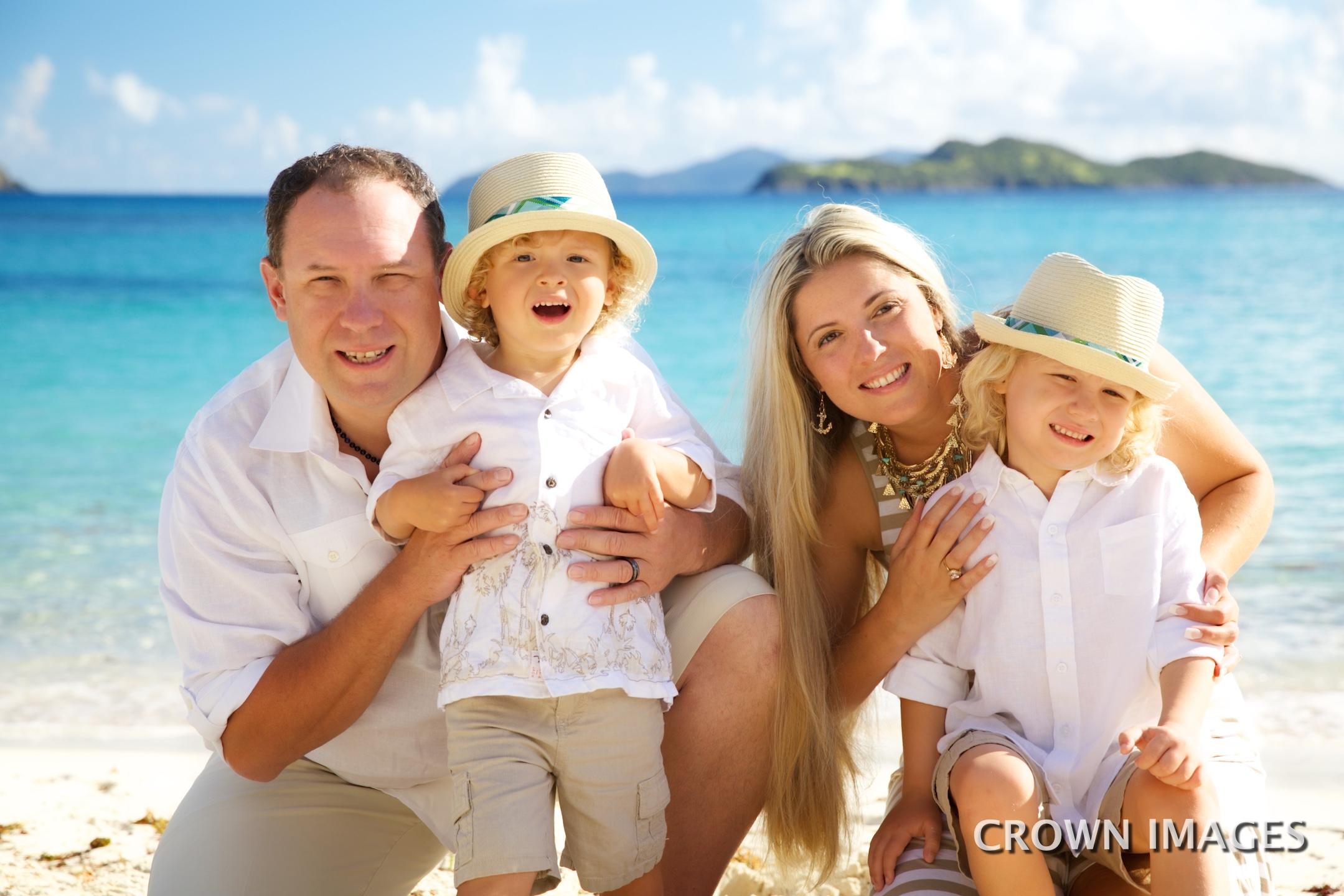 professional photographer on st thomas for family photos