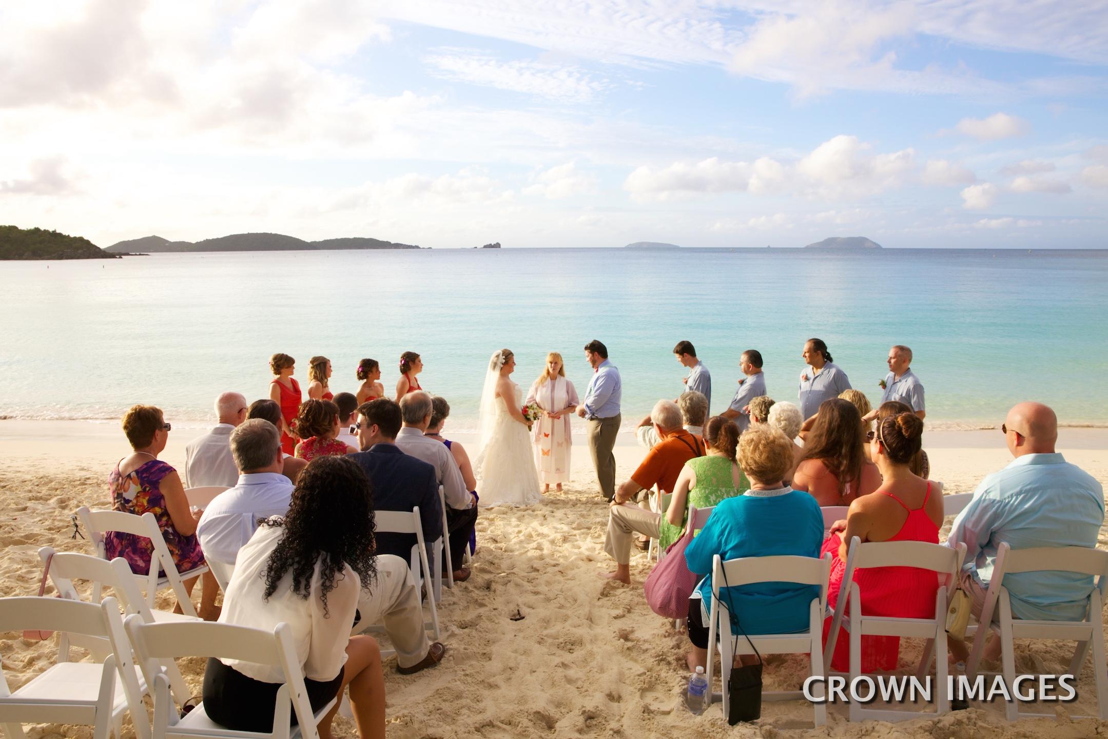 beach ceremony by anne marie porter st john