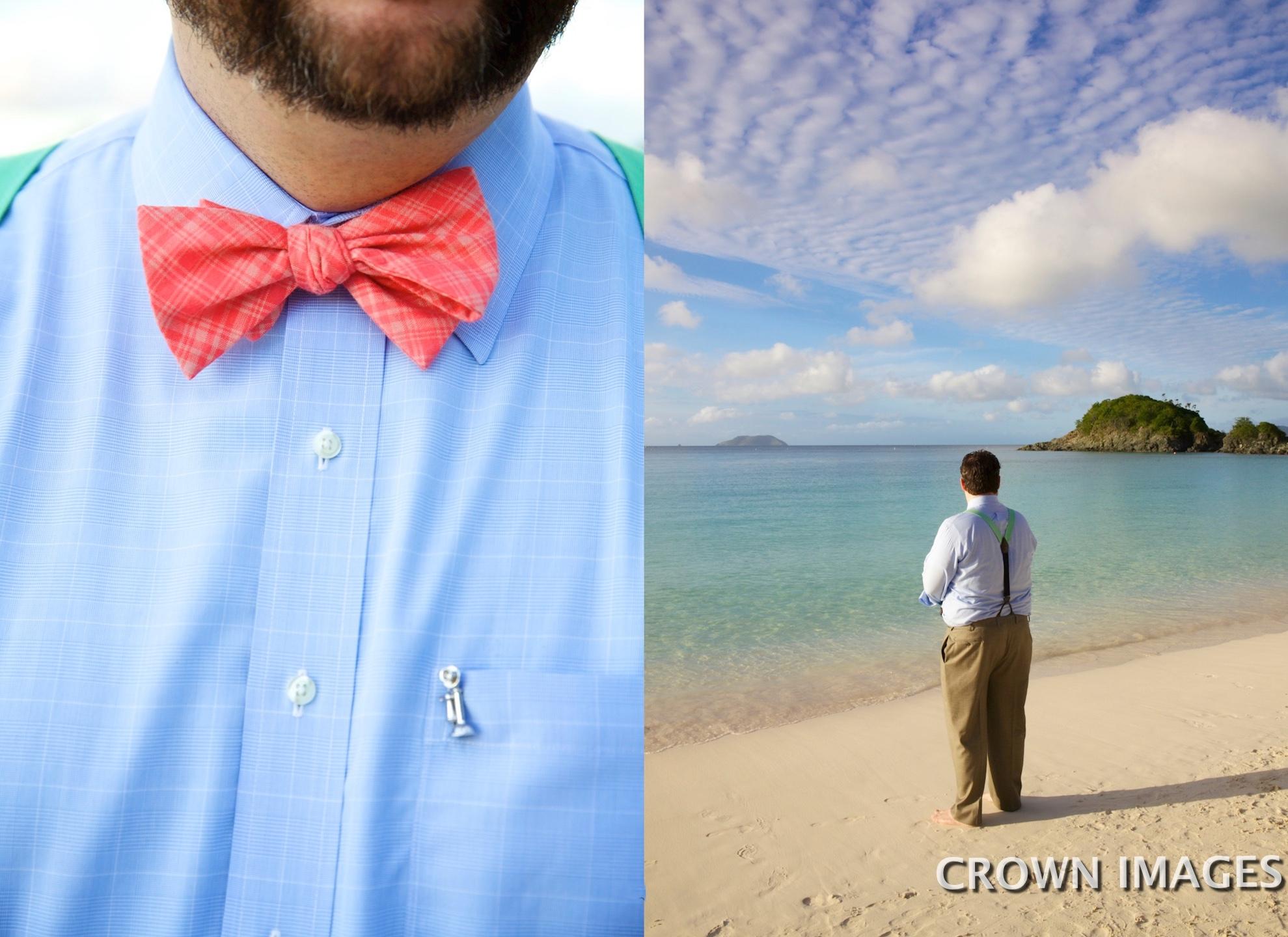 grooms attire for a beach wedding