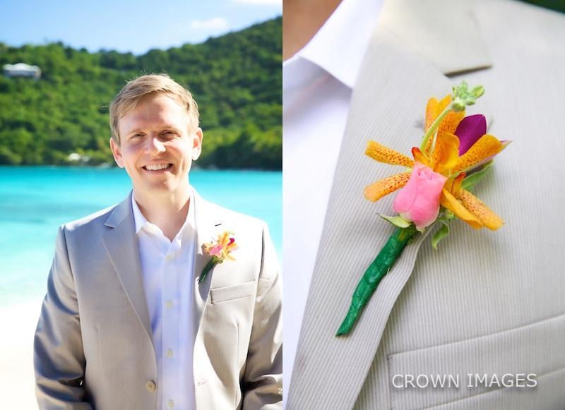 virgin islands wedding flowers