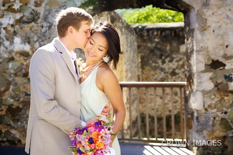 st john resort wedding photos