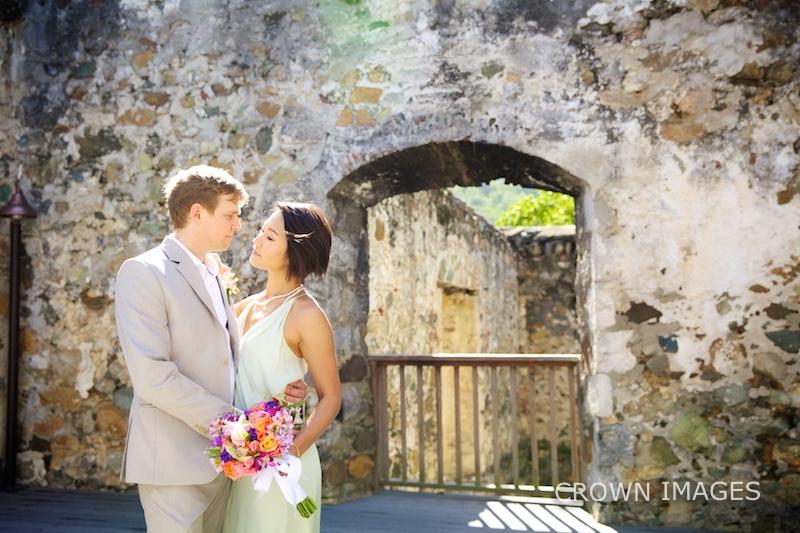 wedding photographer on stj john in the us virgin islands