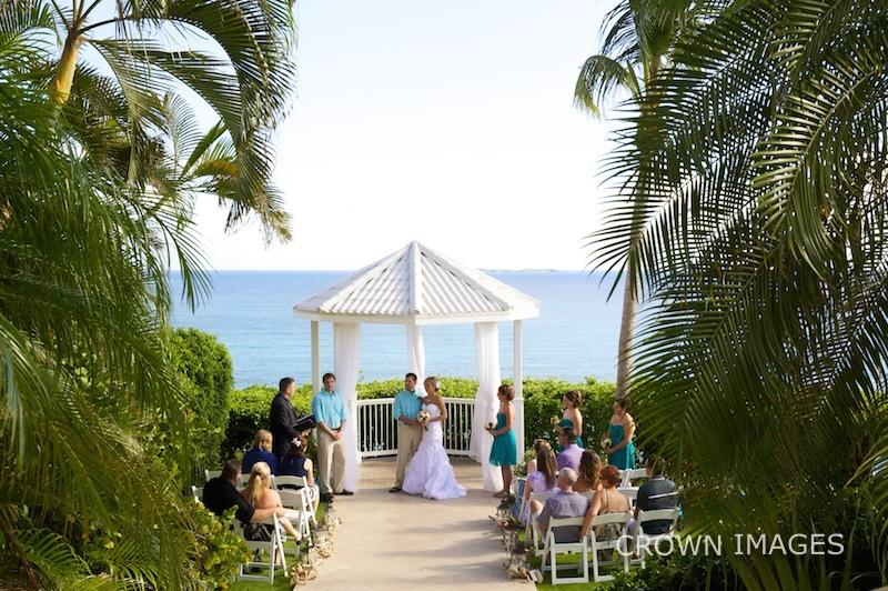 st thomas wedding at a resort