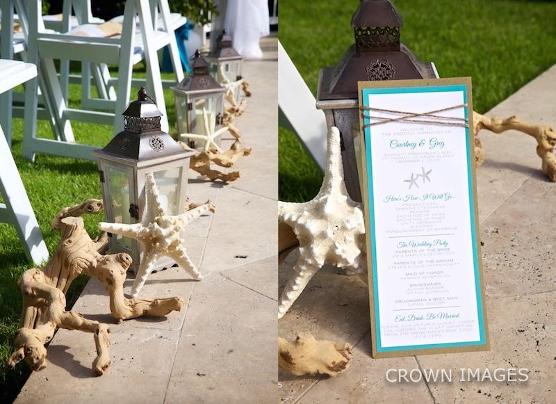 wedding details at st thomas