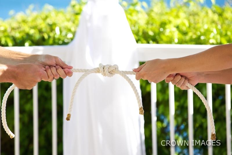 wedding ceremony on st thomas