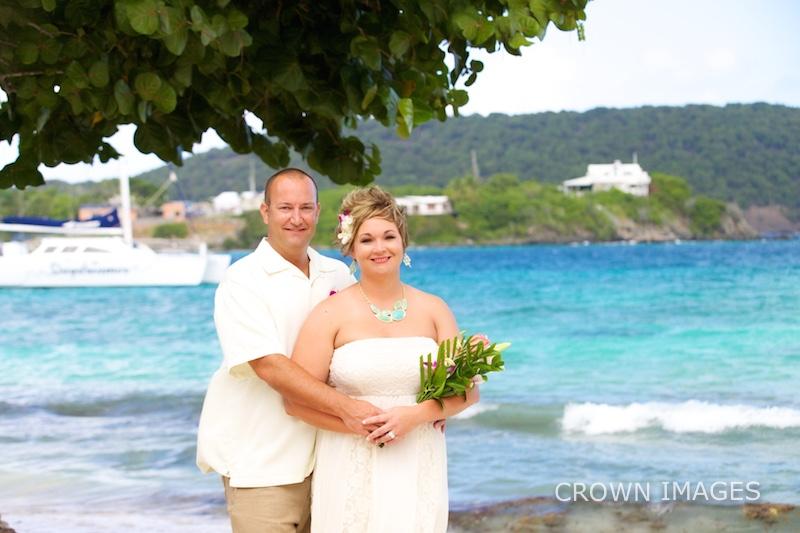 dreams sugar bay st thomas resort wedding photos