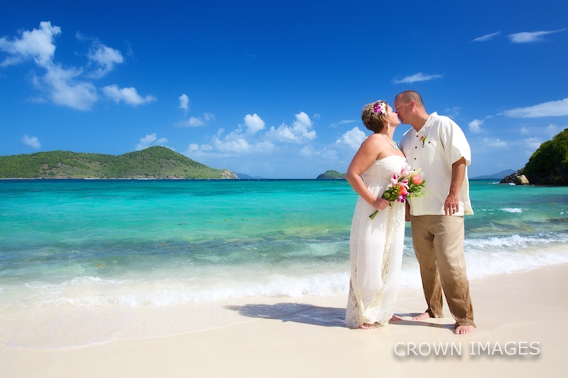 beach wedding all inclusive resort st thomas photos by crown images