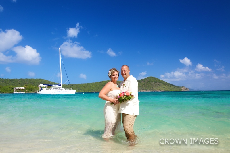 trash the dress photo session in the virgin islands