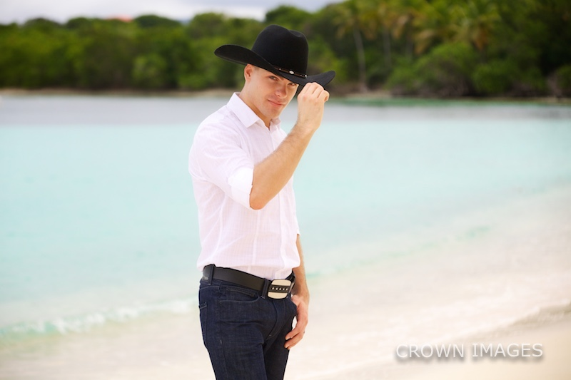 cowboy wedding on st thomas