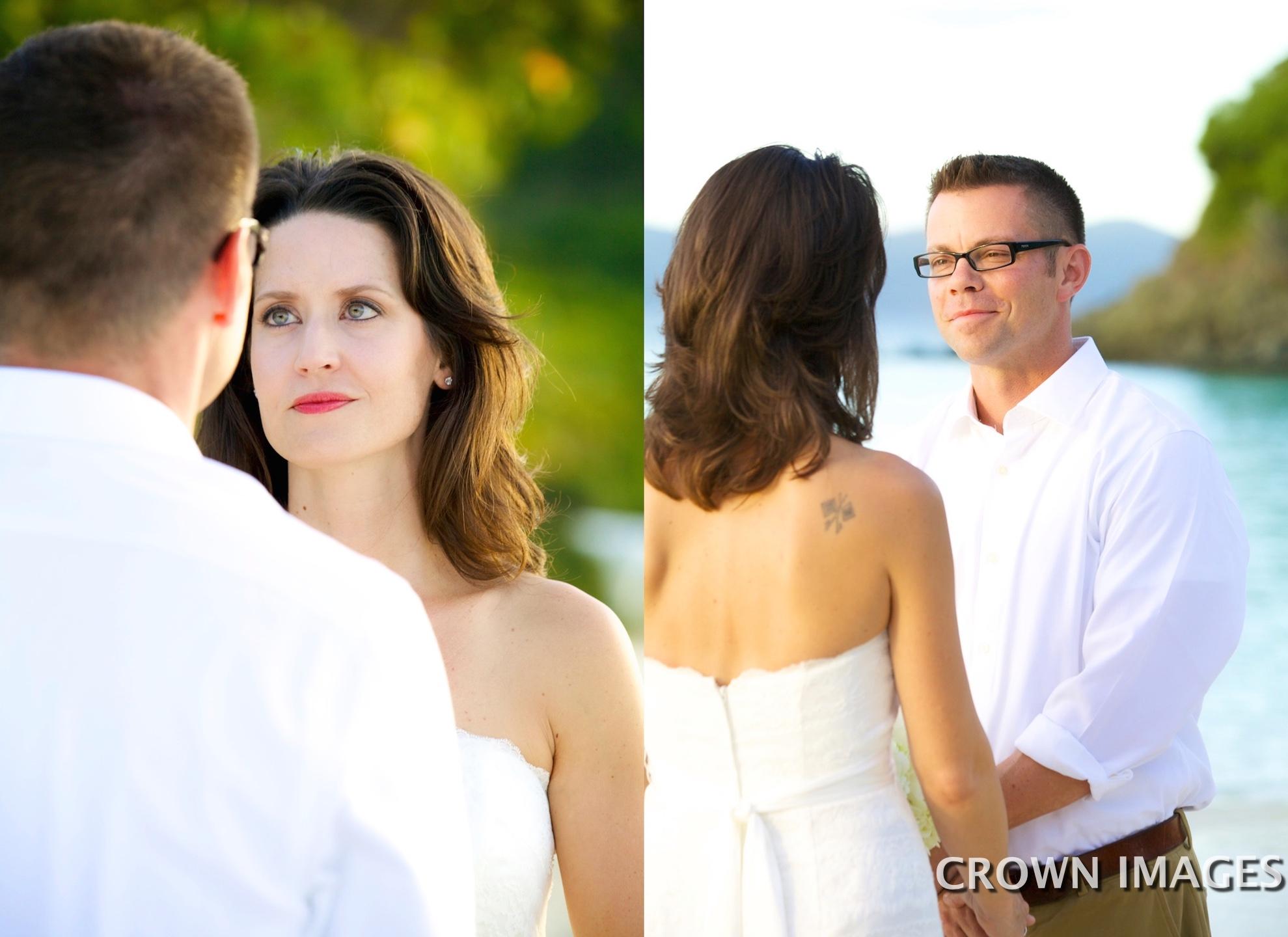 personal wedding on st john
