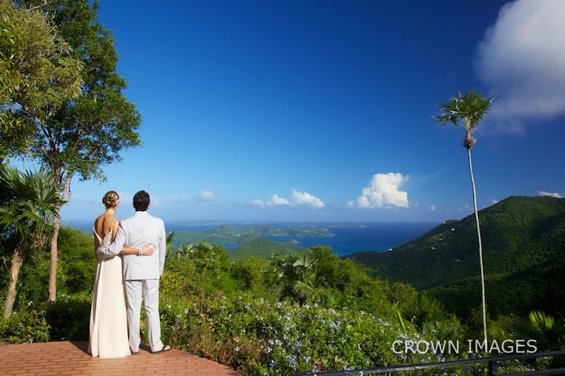 crown images wedding photography on st john