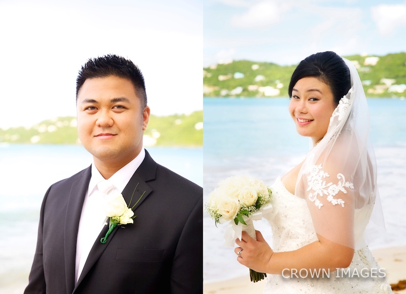 crown images wedding photos on st thomas