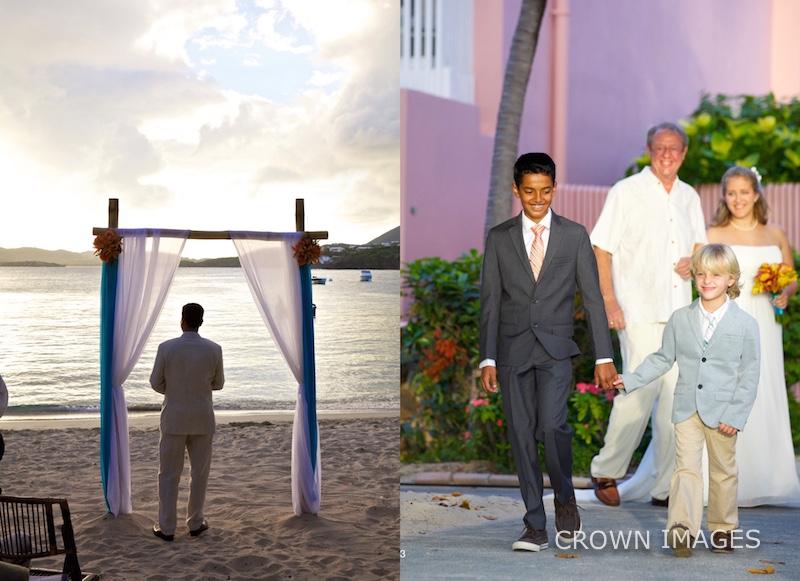 secret harbour beach wedding st thomas