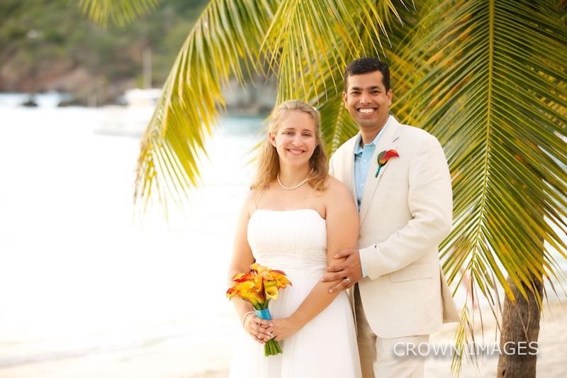 st thomas sunset wedding photos