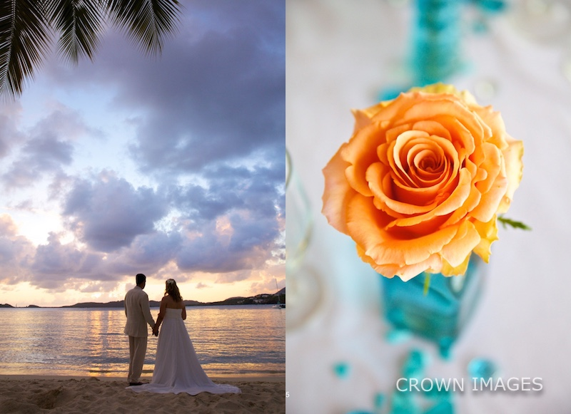 wedding photographer crown images st thomas