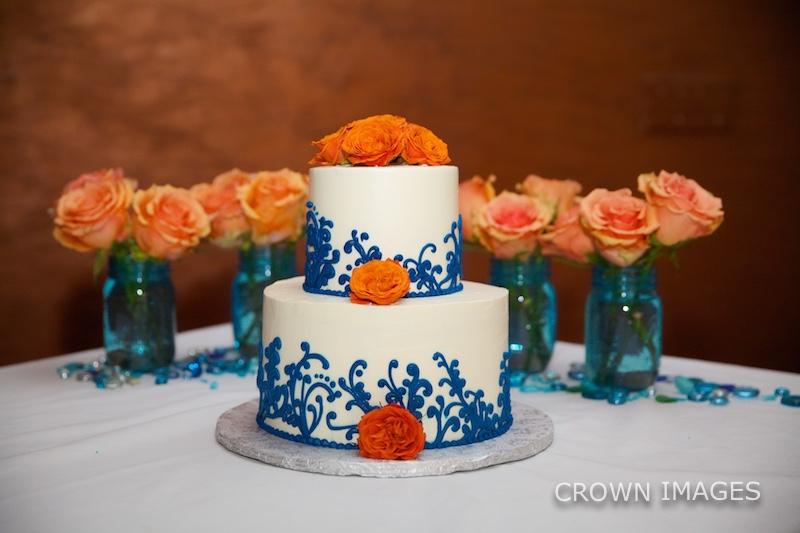 wedding cake on st thomas