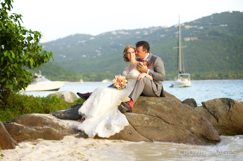 wedding photographer virgin islands crown images