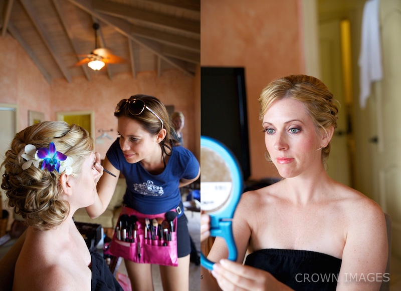 makeup and hair styles virgin islands for a wedding by sugar and spice